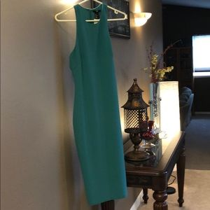 H&M green dress